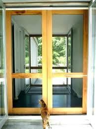 retractable screen doors for garage double garage screen doors double screen doors screen for french door