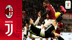 Watch highlights and full match hd: Milan 1 1 Juventus Cr7 Scores Again As Juve Rescue Cup Draw In Milan Semi Finals Coppa Italia Youtube