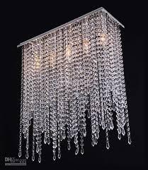chic crystal lighting chandelier modern crystal chandelier lighting crystal drop pendant lamp for