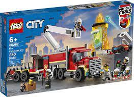 Đồ chơi LEGO City Xe Đầu Kéo Chữa Cháy 60282 | LEGO Official Store