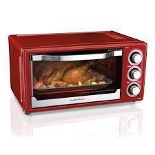 hamilton beach countertop oven 6 slice toaster convection broiler red model 31104 reviews