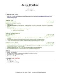 Resume Templates For College Students With No Work Experience Resume  Templates For High School Students With No Work Experience Free