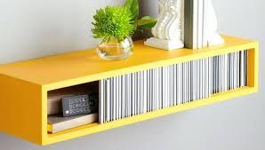 hanging floating shelves bright yellow floating shelf can i hang floating shelves with command strips hanging