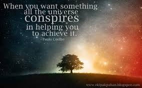 quotes about alchemist quotes  all the •universe conspires in helping you to achieve it taulo coelho ekipakpahan pot com