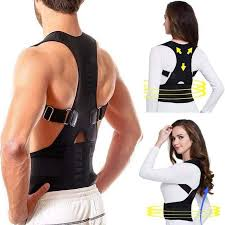 43 Off Back Brace Posture Corrector Fully Adjustable Back Support Brace Improves Posture And Provides Lumbar Support For Lower And Upper Back