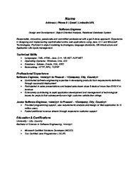 Resume Services Online