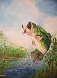 largemouth painting largemouth bass by jose lugo