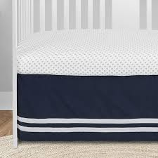 navy blue white anchors baby boy girl
