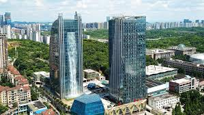 Cool real architecture buildings French Fries Your Office Building Isnt Cool Unless It Has Waterfall Running Down It The Manual The Manual Your Office Building Isnt Cool Unless It Has Waterfall Running