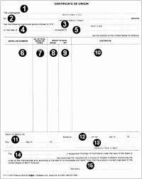 Certificate Of Origin Template Excel Best Of Certificate Origin