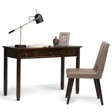simpli home brown desk