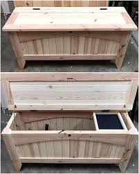 reclaimed wood pallet bench. Insanely Smart Reclaimed Wood Pallet Projects Bench