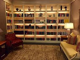 book shelf lighting. library shelf lighting with phantom book a