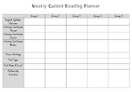 Planner 5 Weekly Guided Reading Planner 5 Reading Groups By Jessika Zimmer