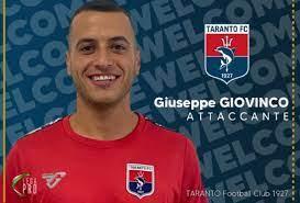 Giuseppe Giovinco vuole lasciare un segno nel Taranto