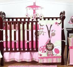 pink zebra print crib bedding cheetah