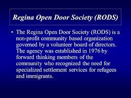 regina open door society rods the regina open door society rods is