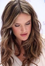 layered light brown hairstyles alessandra ambrosio hair