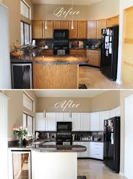 Kitchen Cabinet Remodel Diy Before And After Modern Ideas White