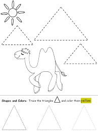 List of Synonyms and Antonyms of the Word: triangle worksheets