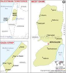 palestine map  map of palestine