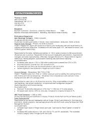 Resume Objective Restaurant Manager Free Resume Example And