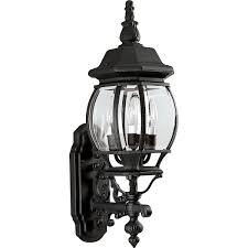 Black Outdoor Onion Lights Progress Lighting P5700