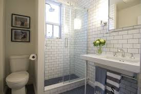 Modern Subway Tile Bathroom Designs