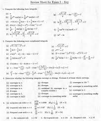 calculus review sheet math 250 calculus ii