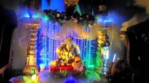 ganpati decoration youtube