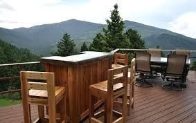 diy outdoor bar stools bar