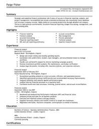 ... Finance Resume Template 14 Are Downloadable As Adobe PDF MS Word Doc  Rich Text Plain And ...