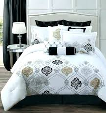 black queen comforter bedspread purple and sets bedding set white cute bed bath beyond canad
