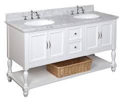 55 inch bathroom vanity amazing art bathe lily white solid hardwood with 13