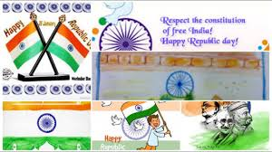 Republic Day Chart Ideas 26 January Drawing For Kids