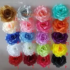 2019 10cm artificial fabric silk rose flower head diy decor vine wedding arch wall flower accessory from amanda2599 41 38 dhgate com