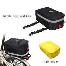 Multifunctional <b>Bicycle</b> Rear Seat Bag <b>Waterproof Outdoor</b> Trunk ...