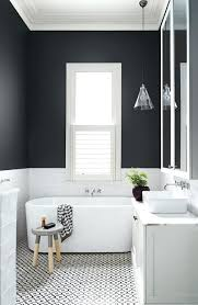 black tile bathroom black and white tile bathroom wallpaper