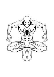 Disegni Da Colorare Di Spiderman Nero Fredrotgans