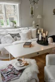 Living Room:Personable White Room With Shabby Chic Furnishings Feat Rustic  Wall Frame And Solid