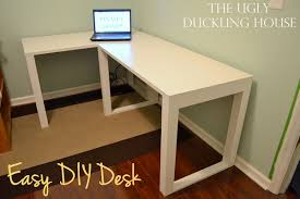 Astounding Building An L Shaped Desk 42 With Additional House Decoration  with Building An L Shaped Desk