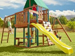 playsets swing sets