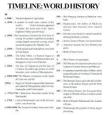 History Timeline Template | Cvfree.pro