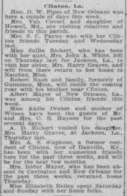 Sallie Richert, A. D. Richert and Mrs Harry Graves. - Newspapers.com