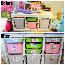 ... Small Space Toy Storage Solution Easy Diy Labels And A Peek Box Kids  Room Solutions Full