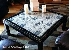 ideal diy glass table makeover coffee tables painted coffee tables with