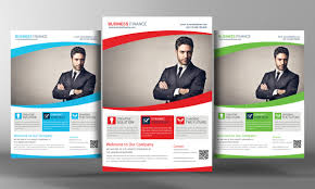 corporate business flyer template flyer template corporate corporate business flyer template by business templates on creative market