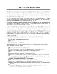 Client Satisfaction Survey Template Word Pdf By Business In A Box