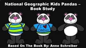 this goes along with the book national geographic kids pandas by anne