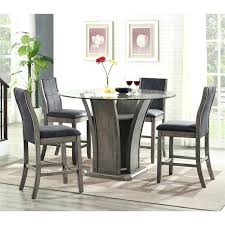 5 piece dining set round table picket house furnishings 5 piece round counter height dining set